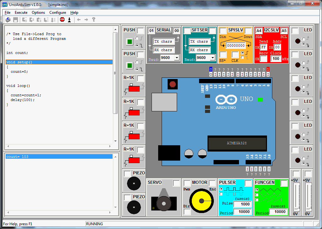 Arduino uno r3 simulator free download